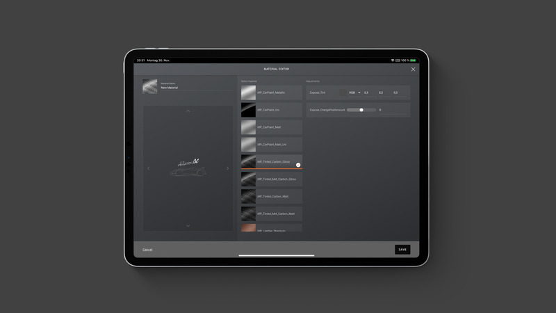 Cases tablet configurator pagani 03